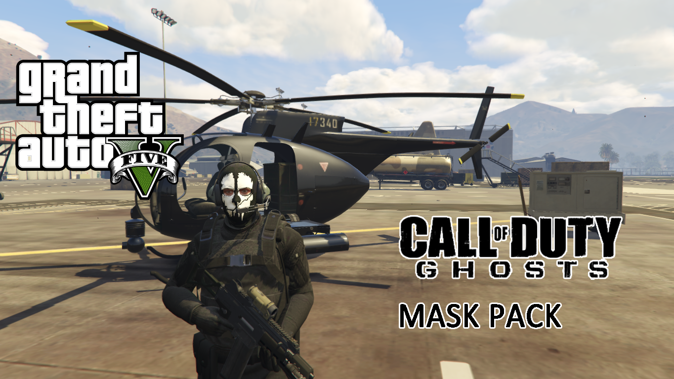 Call Of Duty Ghosts Mask Pack Mp Freemode Male Gta5 Mods Com