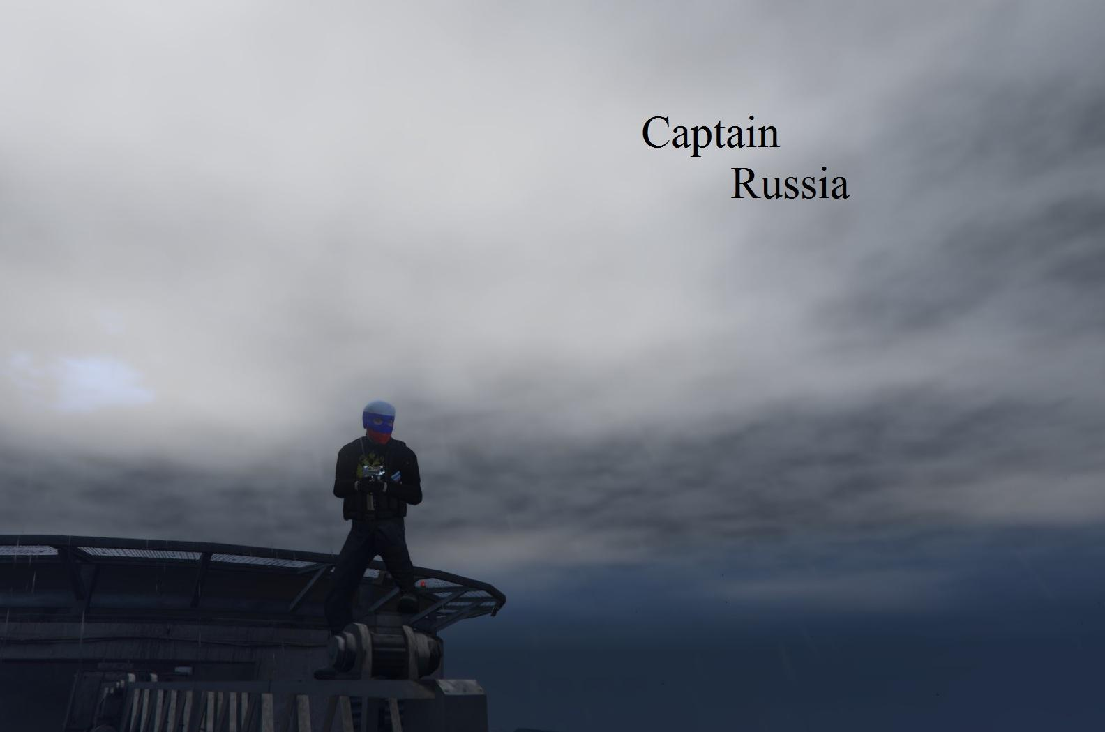 Captain russia gta5 for The russian mod