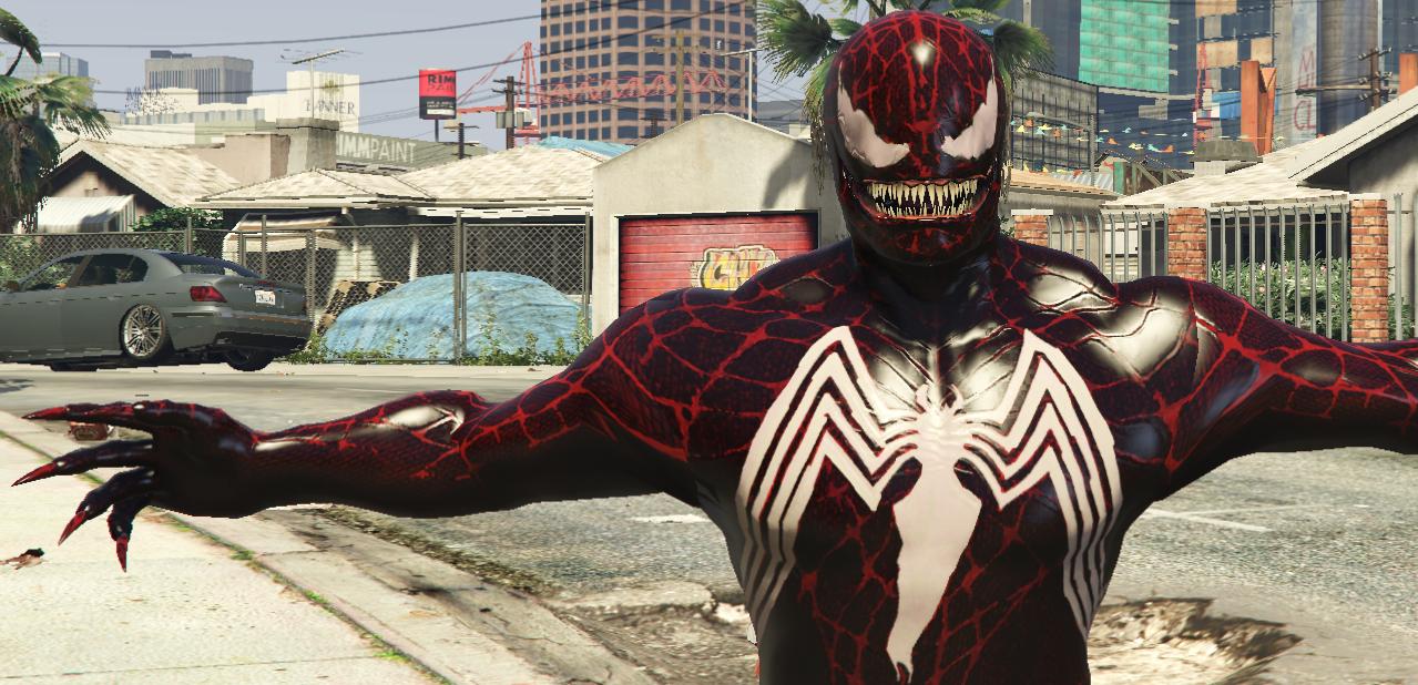 Carnage (Venom Spider-Man 3 Retexture) - GTA5-Mods com