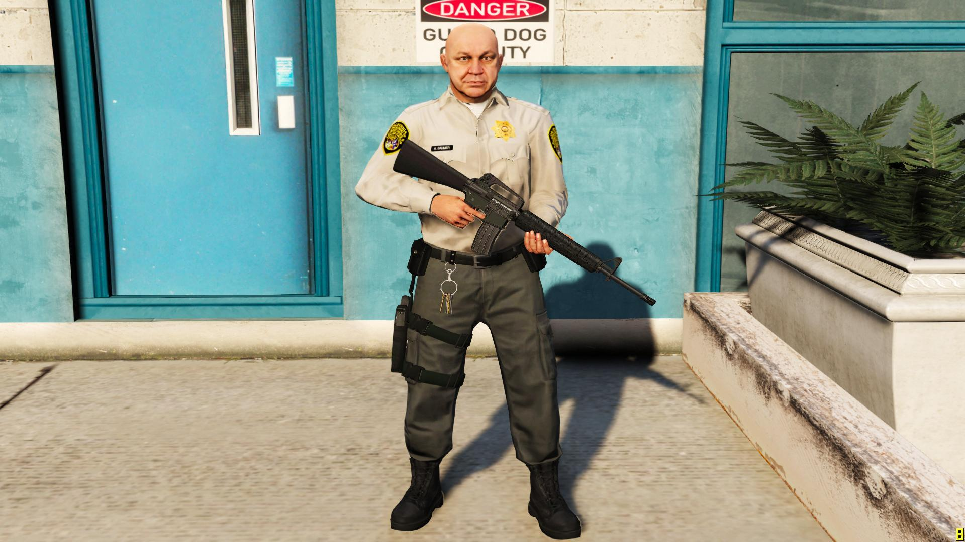 CDCR Officer - GTA5-Mods.com Pictures Of Corrections