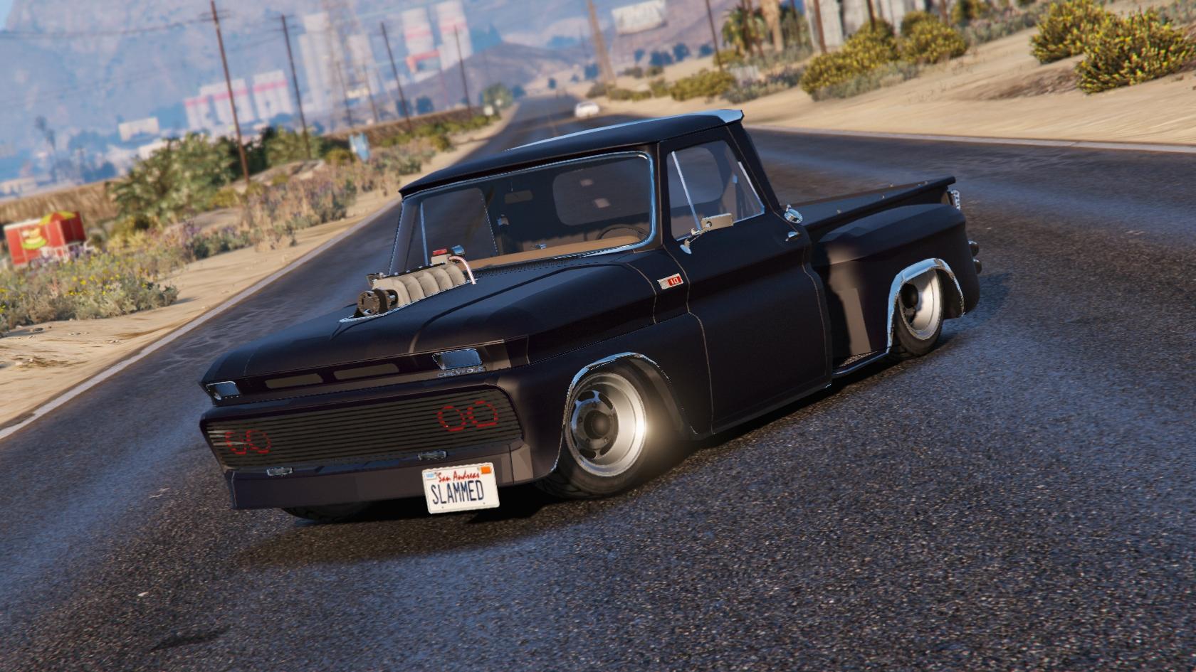 All Chevy c 10 chevy : Chevrolet C-10 Stepside Custom [Add-On / Replace | Custom Dirt ...