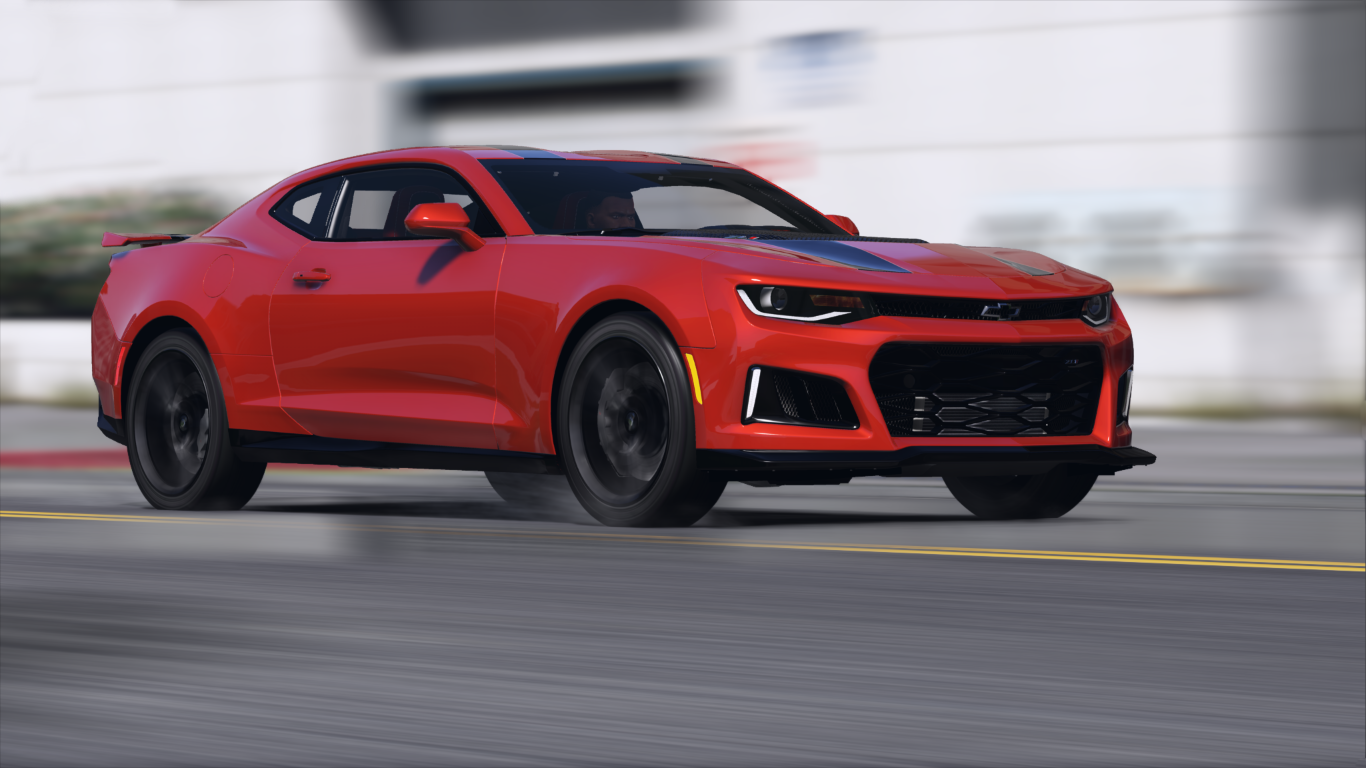 Chevrolet Camaro Zl1 2017 Add On Replace Animated
