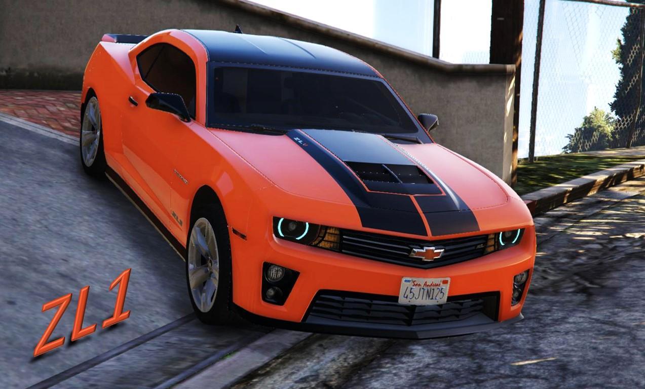 Chevrolet Camaro Zl1 Paintjob Gta5 Mods Com