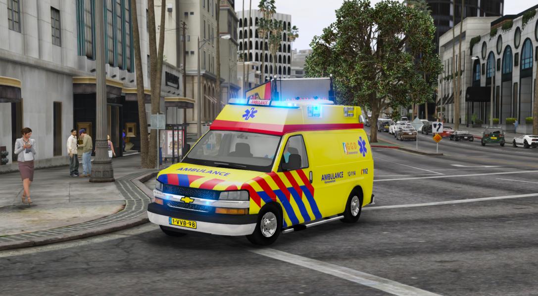Chevrolet Chevy Dutch Ambulance Yellow Livery Els Dutch 4k Nederlandse Chevrolet Chevy Ambulance Gele Livery Els Nederlands 4k Gta5 Mods Com