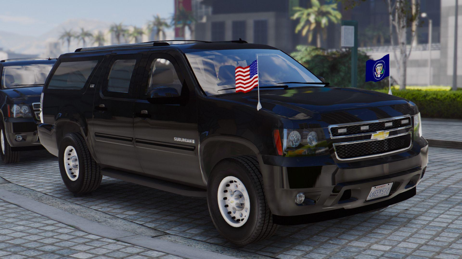 Chevrolet Tahoe 2019 >> Chevrolet Suburban Secret Service [Add-On | Wipers] - GTA5-Mods.com