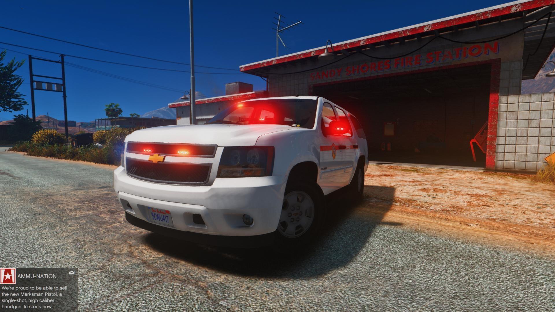 Chevy Tahoe - Fire - GTA5-Mods.com