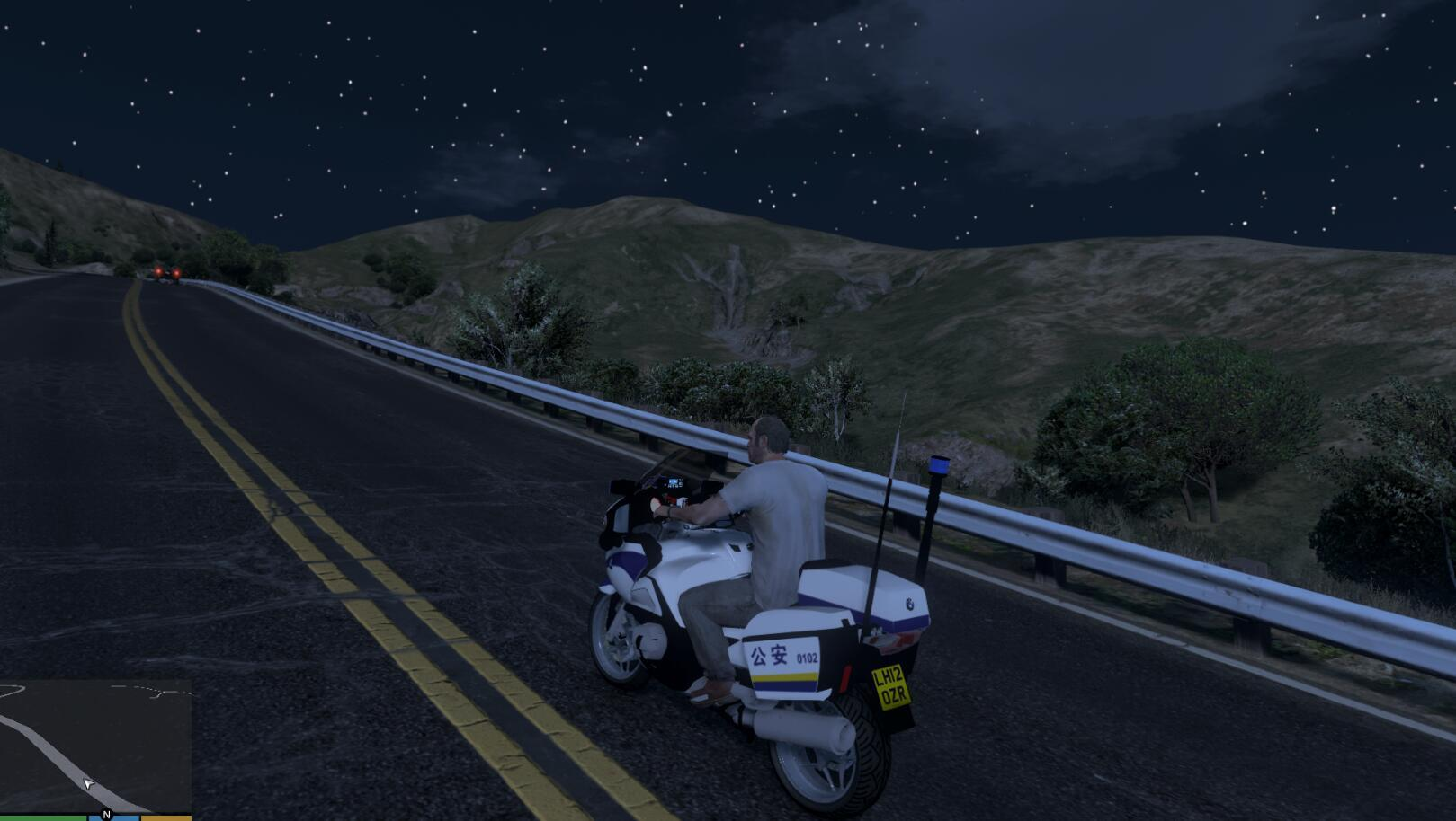 chinese police motorcycle bmw r1200rt gta5. Black Bedroom Furniture Sets. Home Design Ideas