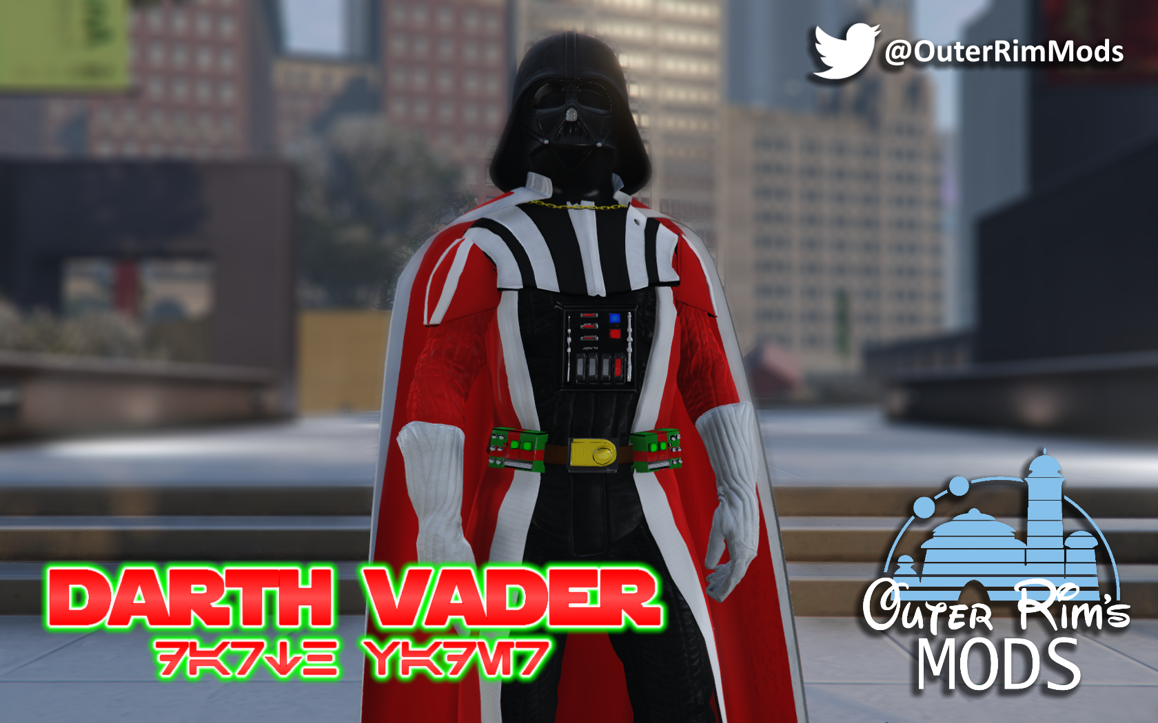 All Gta Christmas Masks.Christmas Darth Vader Add On Gta5 Mods Com