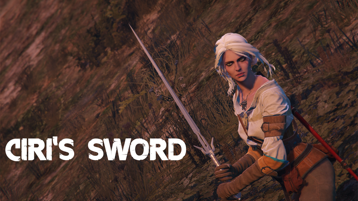 Ciri's Sword (The Witcher 3) - GTA5-Mods com