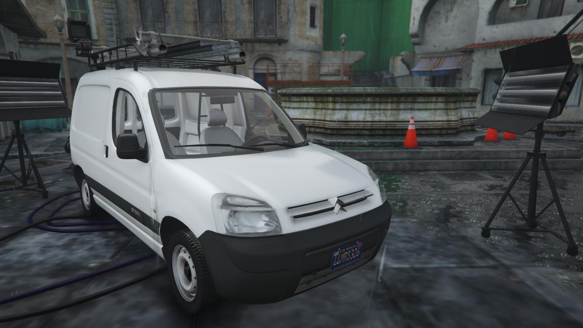 citroen berlingo replace extras add on gta5. Black Bedroom Furniture Sets. Home Design Ideas