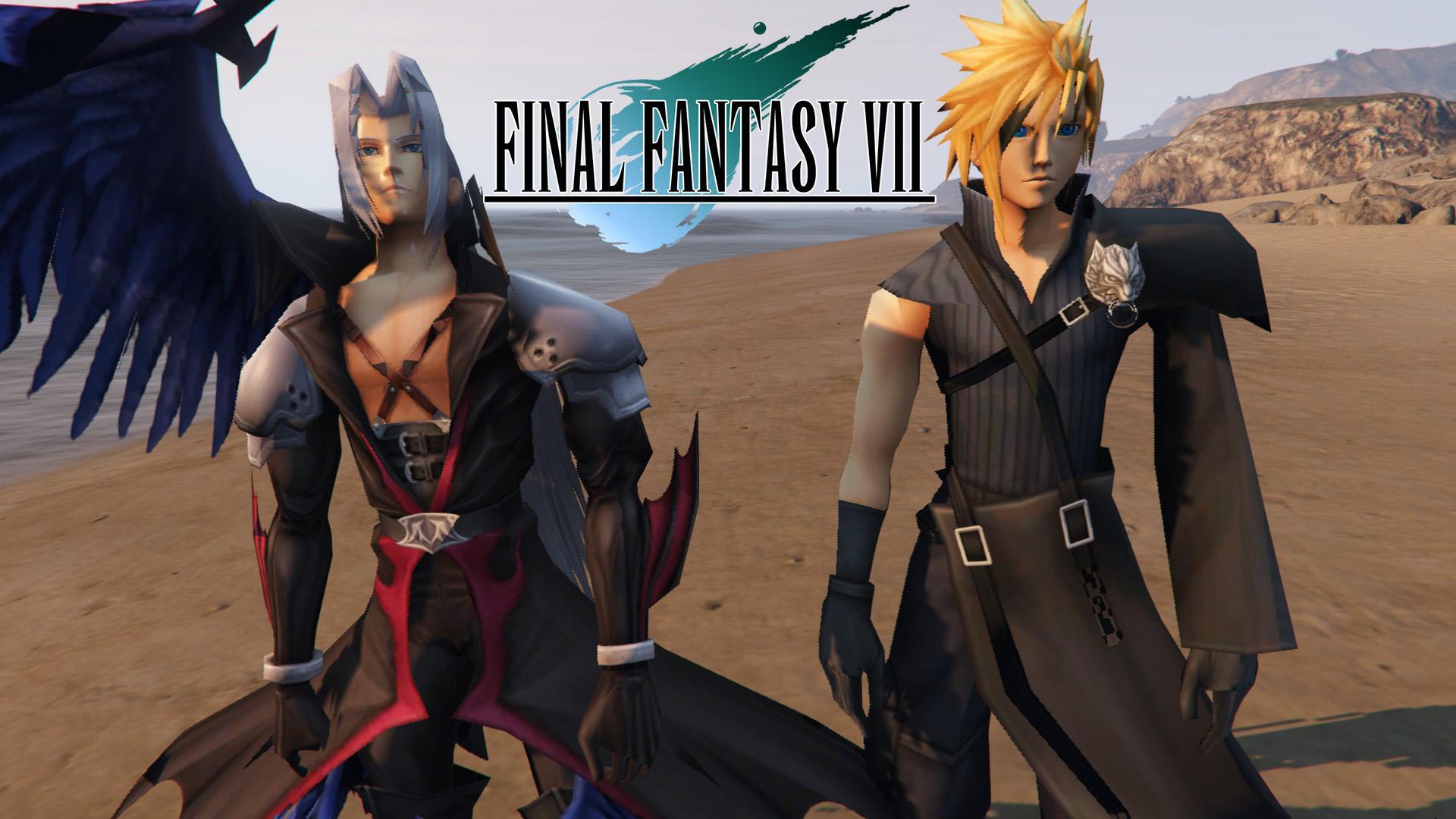 Cloud Strife And Sephiroth Final Fantasy Vii Gta5 Mods Com