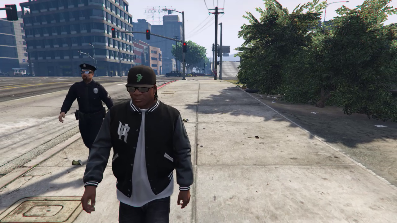 how to become a cop in gta 5