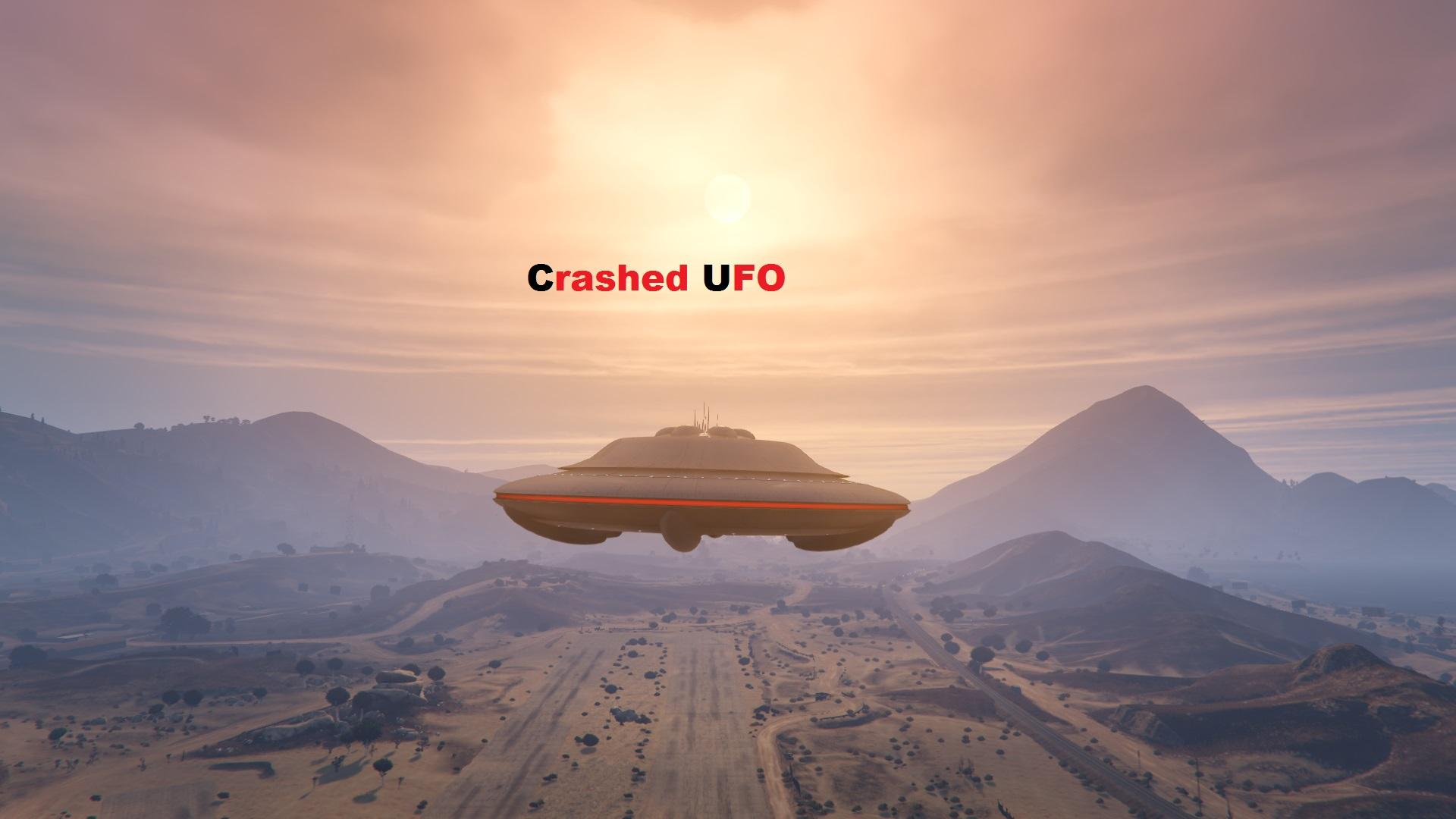 Crashed UFO Scene - GTA5-Mods.com