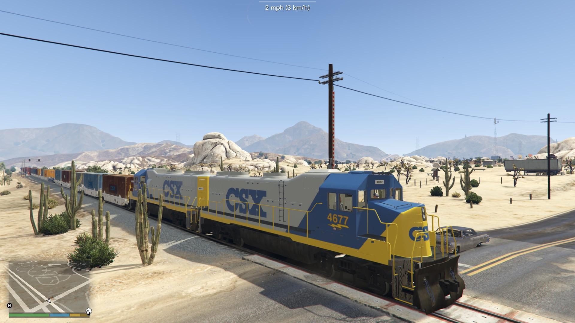 Csx Train Skin Gta5 Mods Com