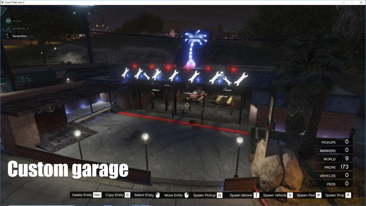 Custom Garage Workshop Map Editor Gta5 Mods Com