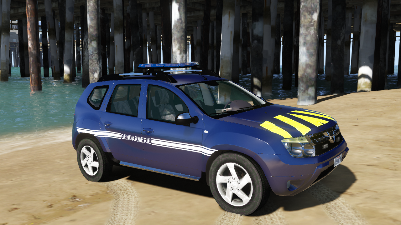 dacia duster gendarmerie gta5. Black Bedroom Furniture Sets. Home Design Ideas