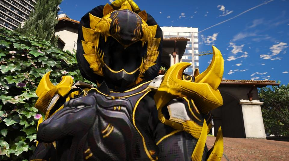 DaiShi-Power Rangers Jungle Fury [Add-On