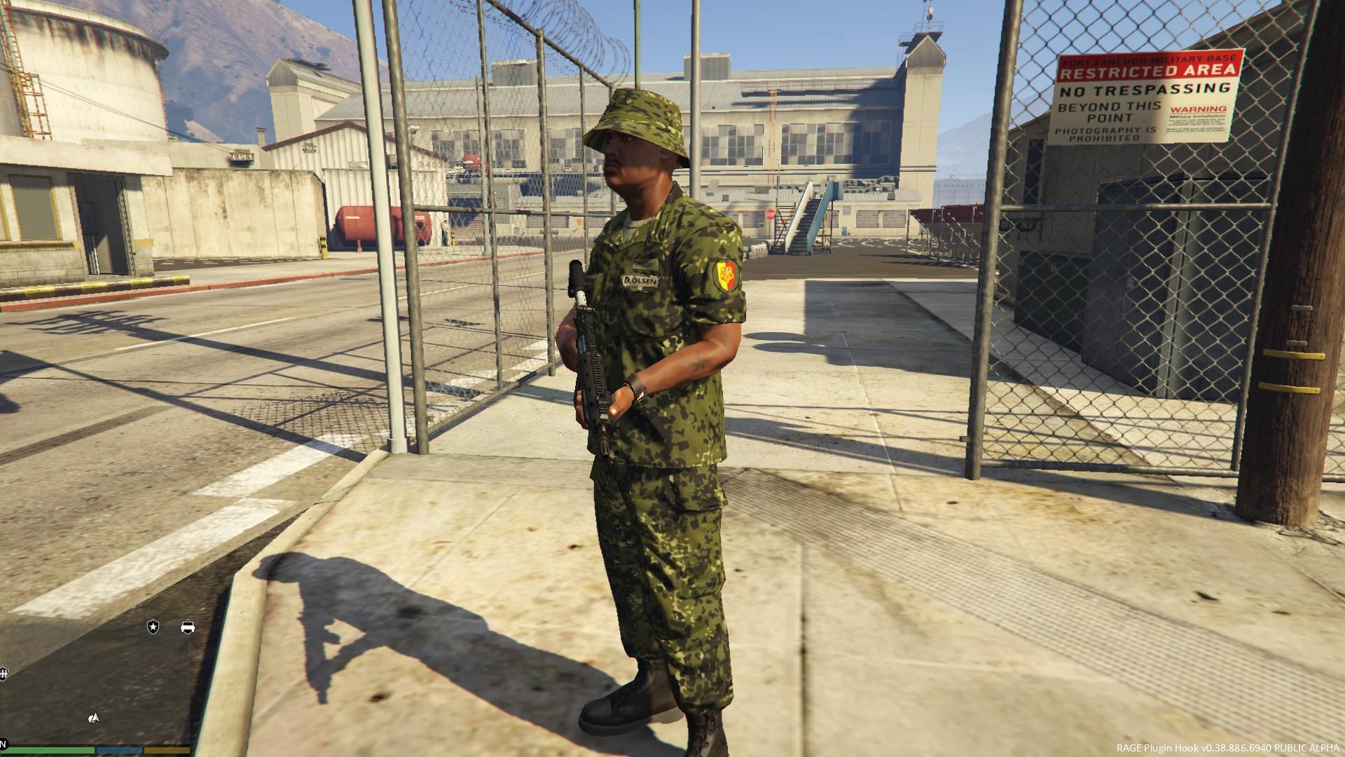 Danish Army M84 Uniform Gta5 Mods Com