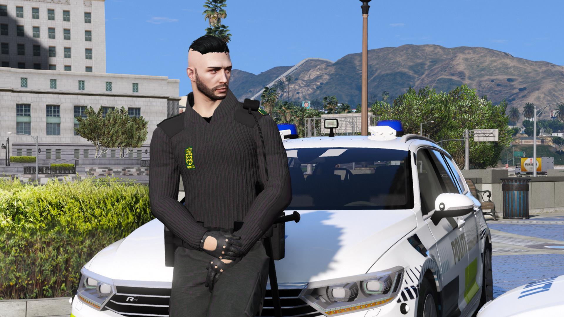 4k Res Danish Eup Police Uniform Pack Gta5 Mods Com