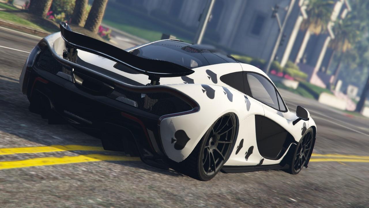Deadmau5 ace of spades livery for mclaren p1 gta5 for Sunny king honda oxford al