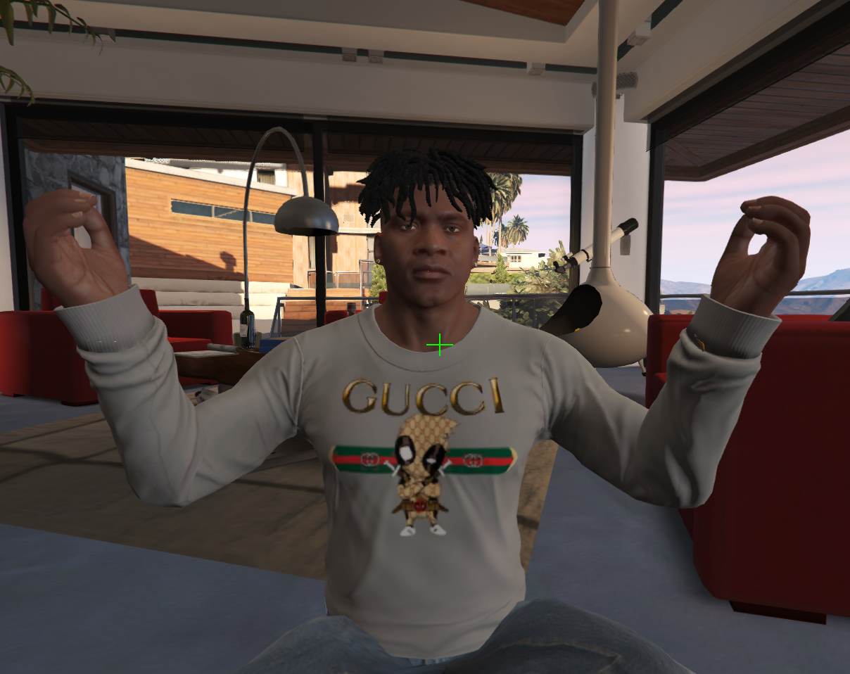 222fbc04db1 Deadpool GUCCI Sweatshirt - GTA5-Mods.com
