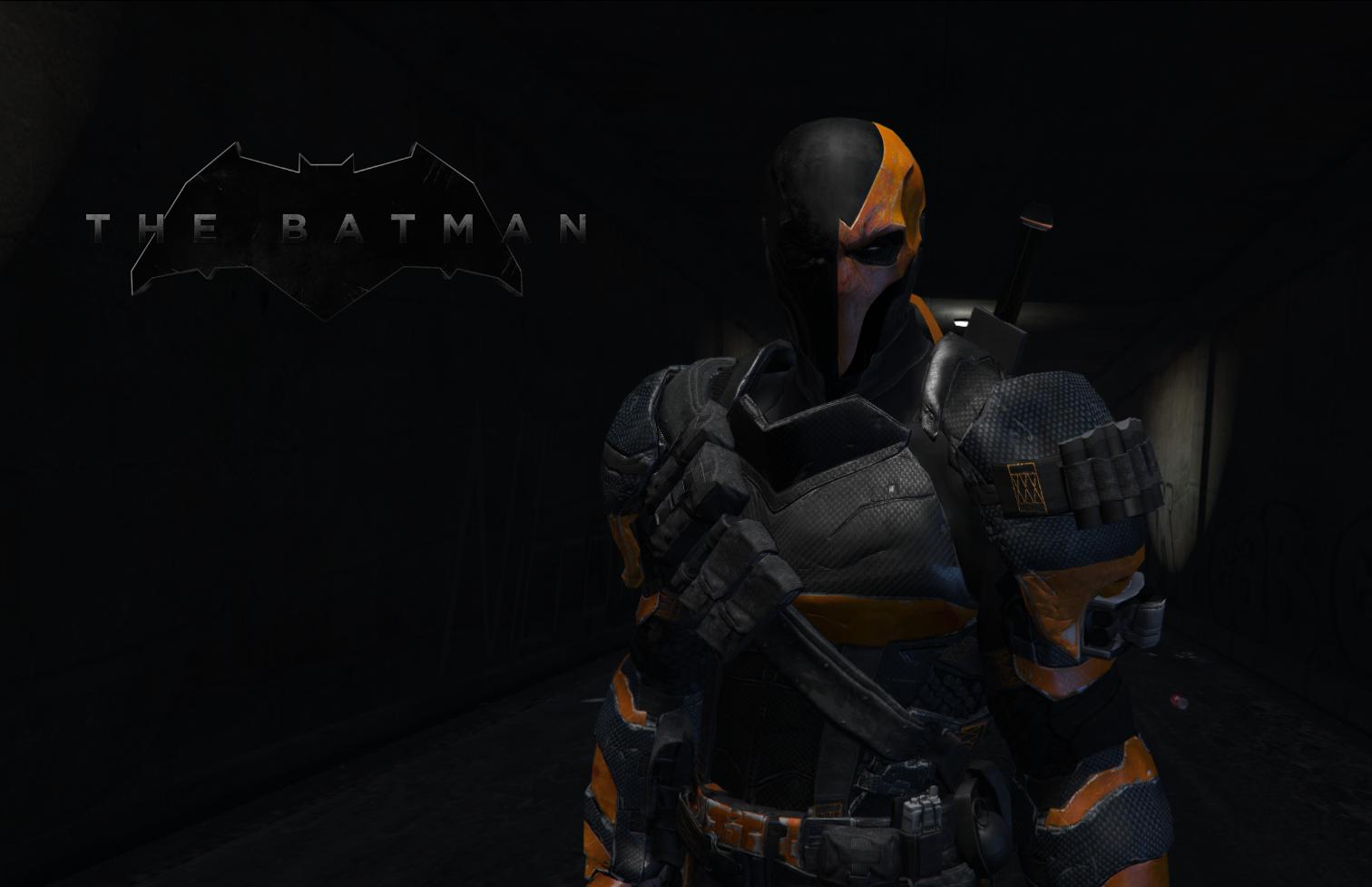 "Deathstroke (Joe Manganiello ""The Batman"" 2019) [Add-On"