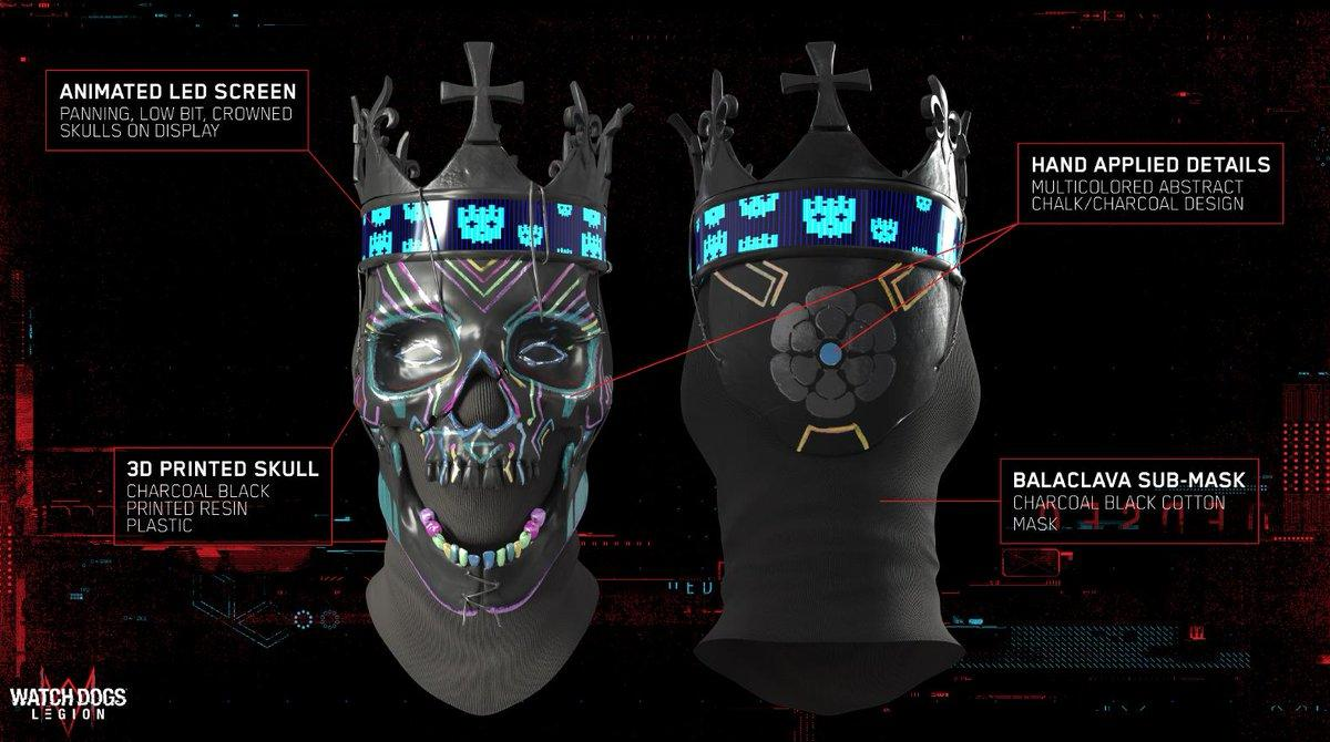Dedsec Coronet Mask Watch Dogs Legion Gta5 Mods Com