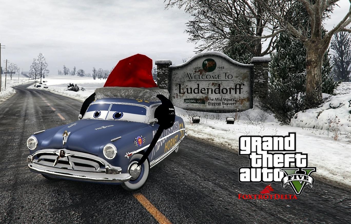 Doc Hudson (Disney Cars) Christmas [Replace]