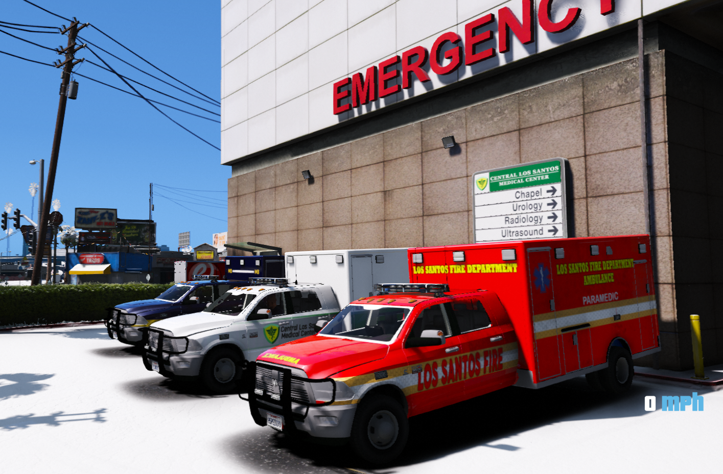 Dodge 3500 Mega Cab Ambulance [ELS] ADDON/REPLACE - GTA5 ...