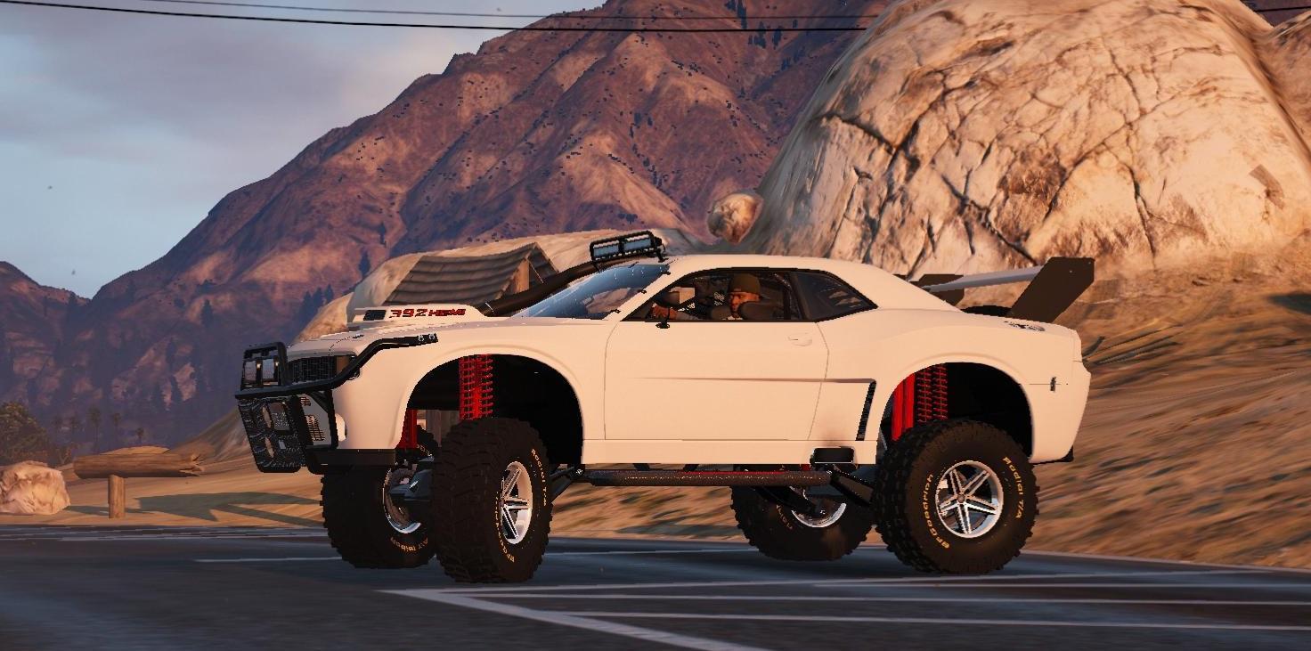 Dodge Challenger Raid Handling - GTA5-Mods.com
