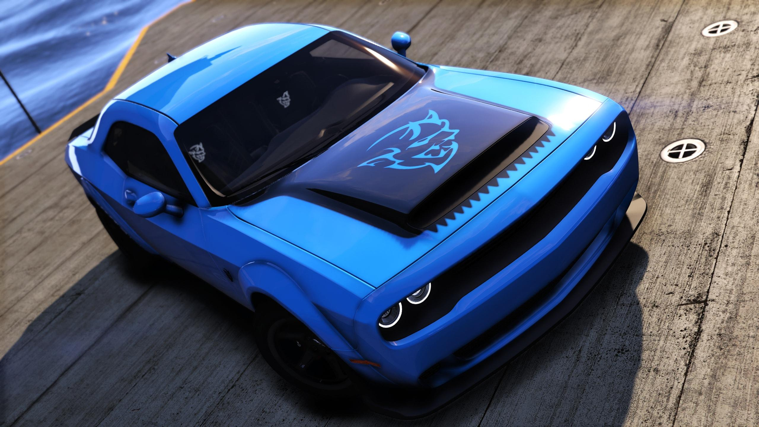 Dodge Charger Demon >> Dodge Demon Hood Vinyl [8k] - GTA5-Mods.com