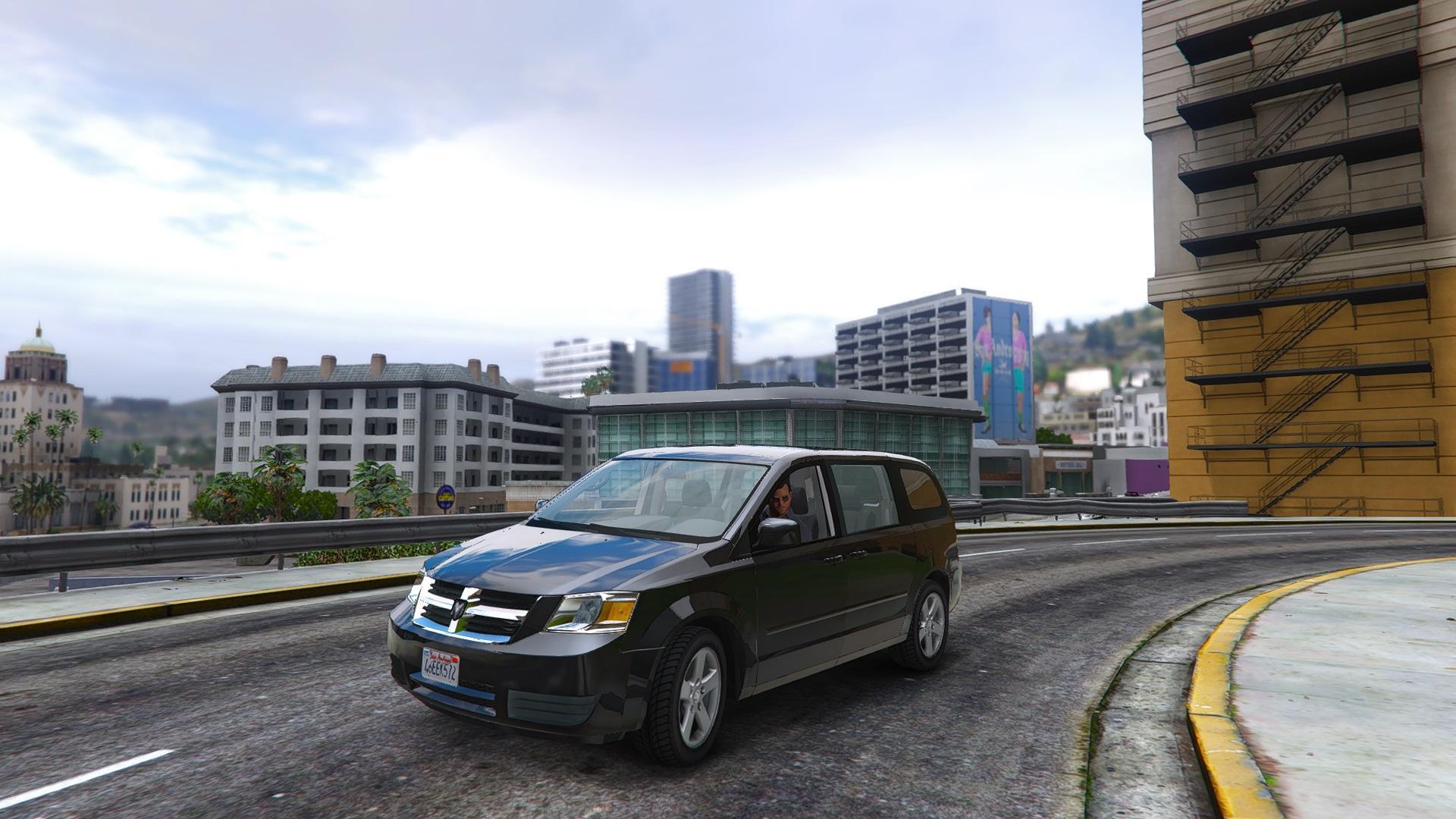 Dodge Grand Caravan Sxt 2008 Add On Replace Gta5