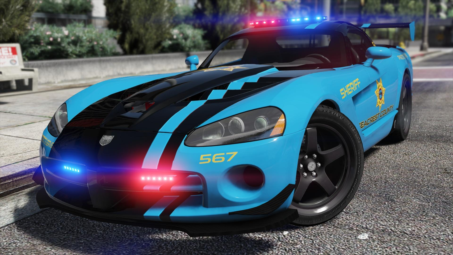 Dodge Viper SRT-10 ACR | Hot Pursuit Police [Add-On ...