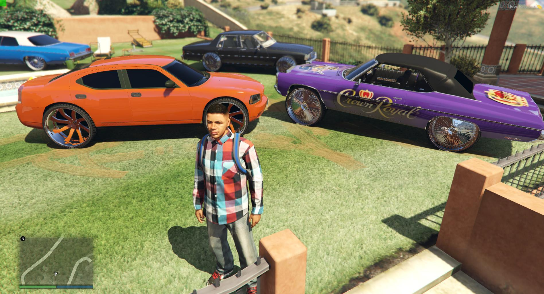 how to get donk cars on gta 5