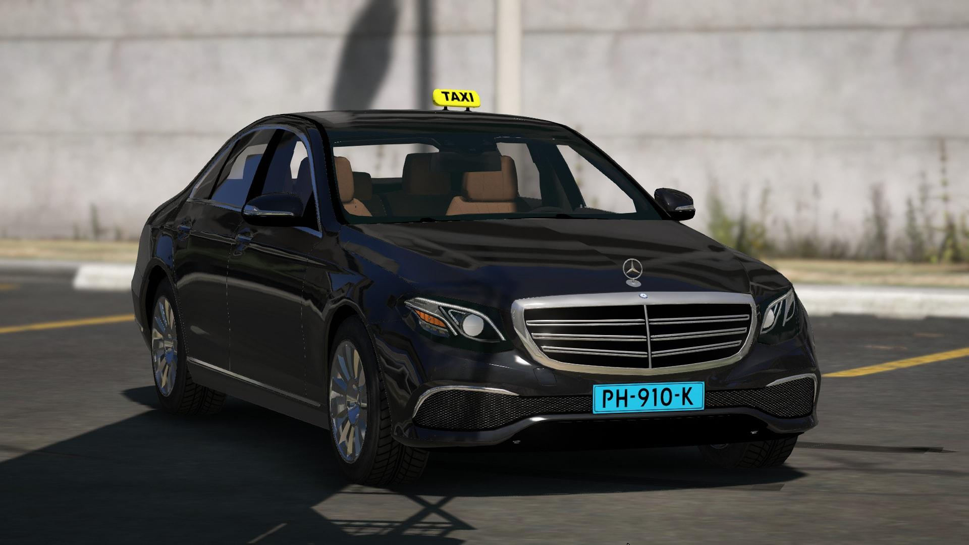 dutch mercedes benz e class 2015 taxi gta5. Black Bedroom Furniture Sets. Home Design Ideas