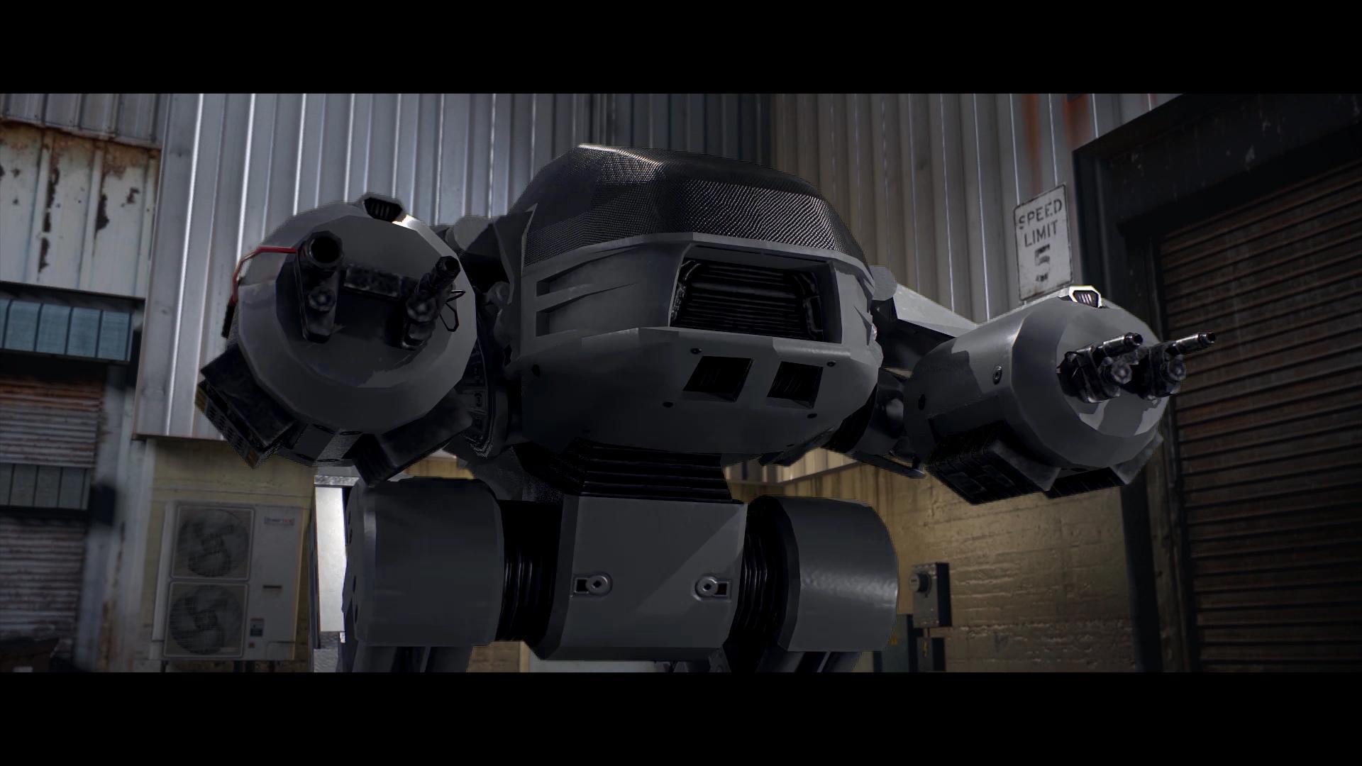 ED 209 (Robocop 1987) - GTA5-Mods com
