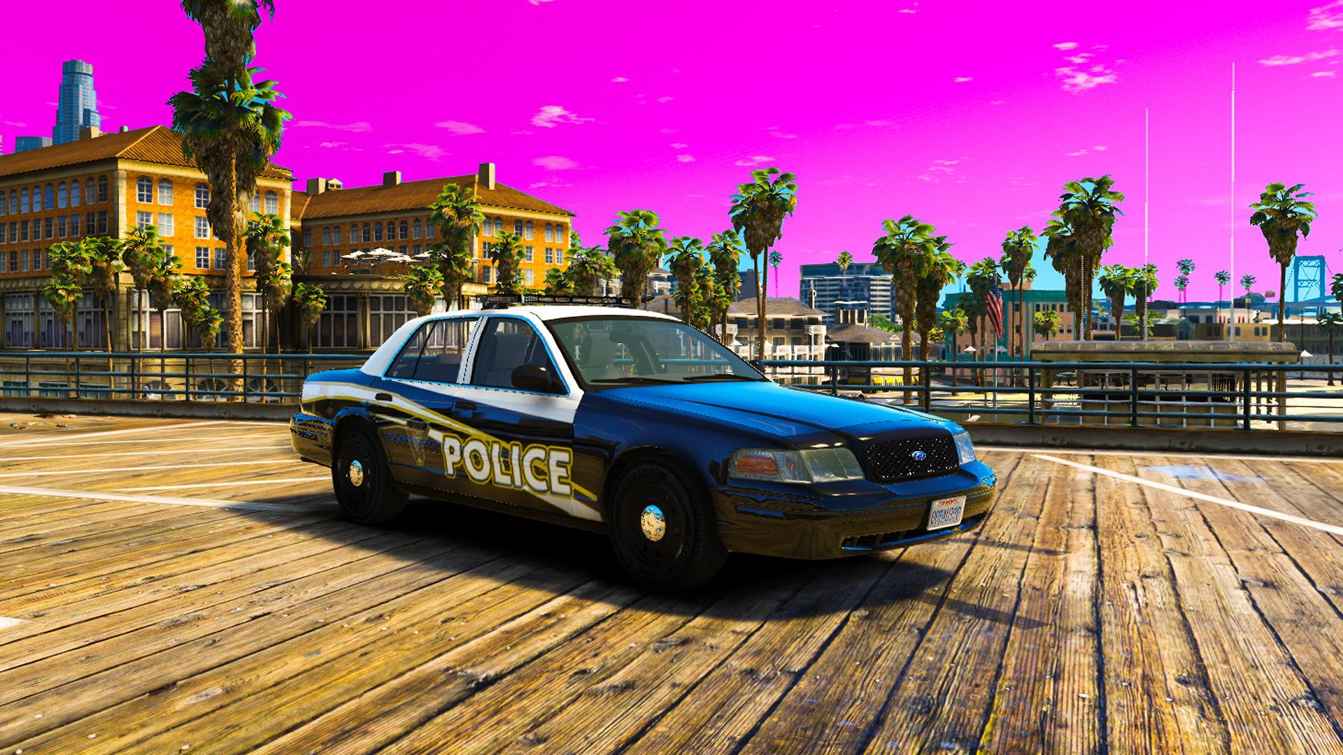 Els Quot The Flash Quot Ccpd Crown Victoria Police Car From