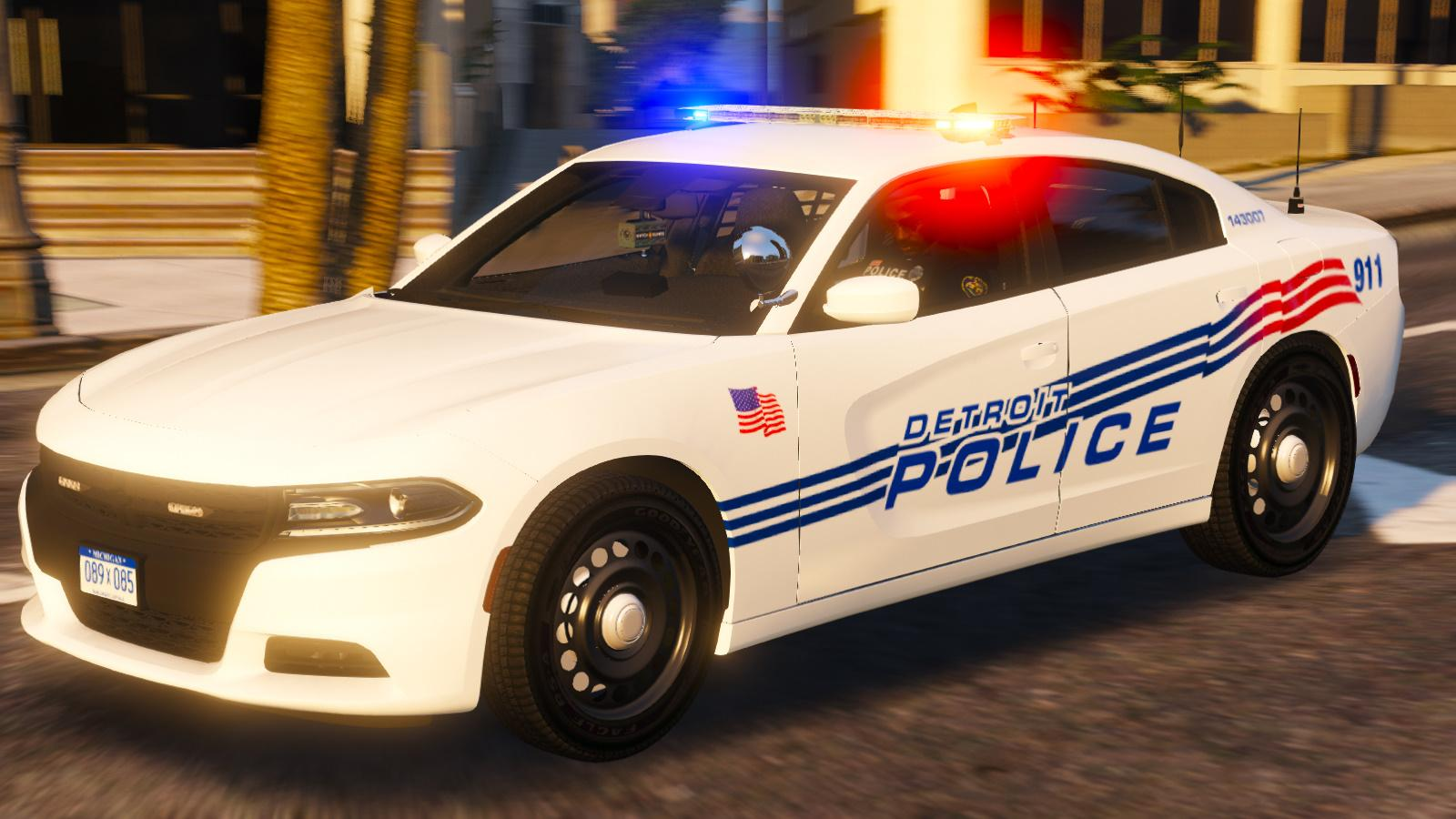 Detroit PD 2016 Dodge Charger PPV [ELS] - GTA5-Mods.com