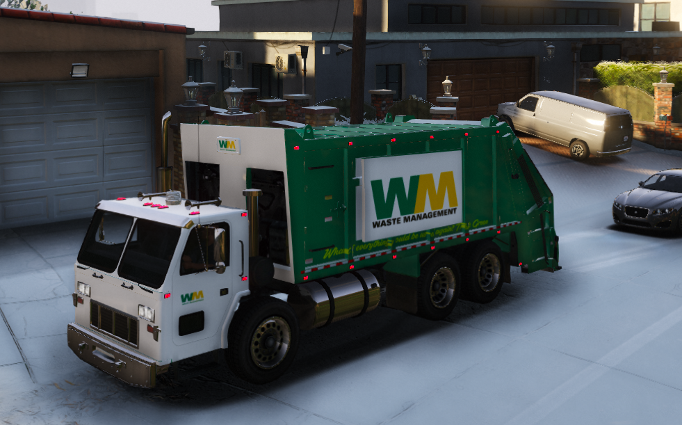 ELS Mapped Garbage Truck - GTA5-Mods com
