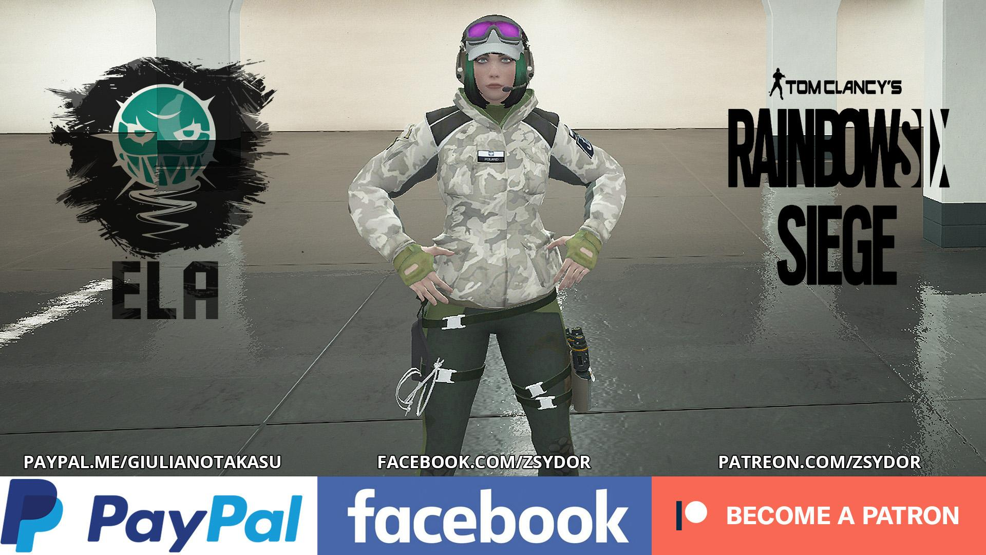 "Elżbieta ""Ela"" Bosak [Rainbow Six Siege] - GTA5-Mods.com"