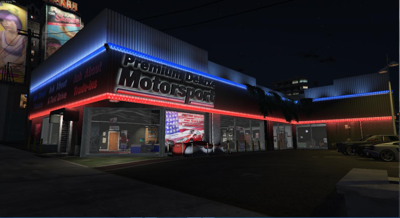 Enhanced Dealership Gta5 Mods Com