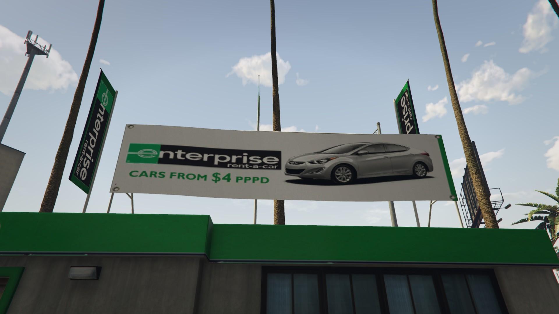 Enterprise Rent A Car Chevrolet Suburban