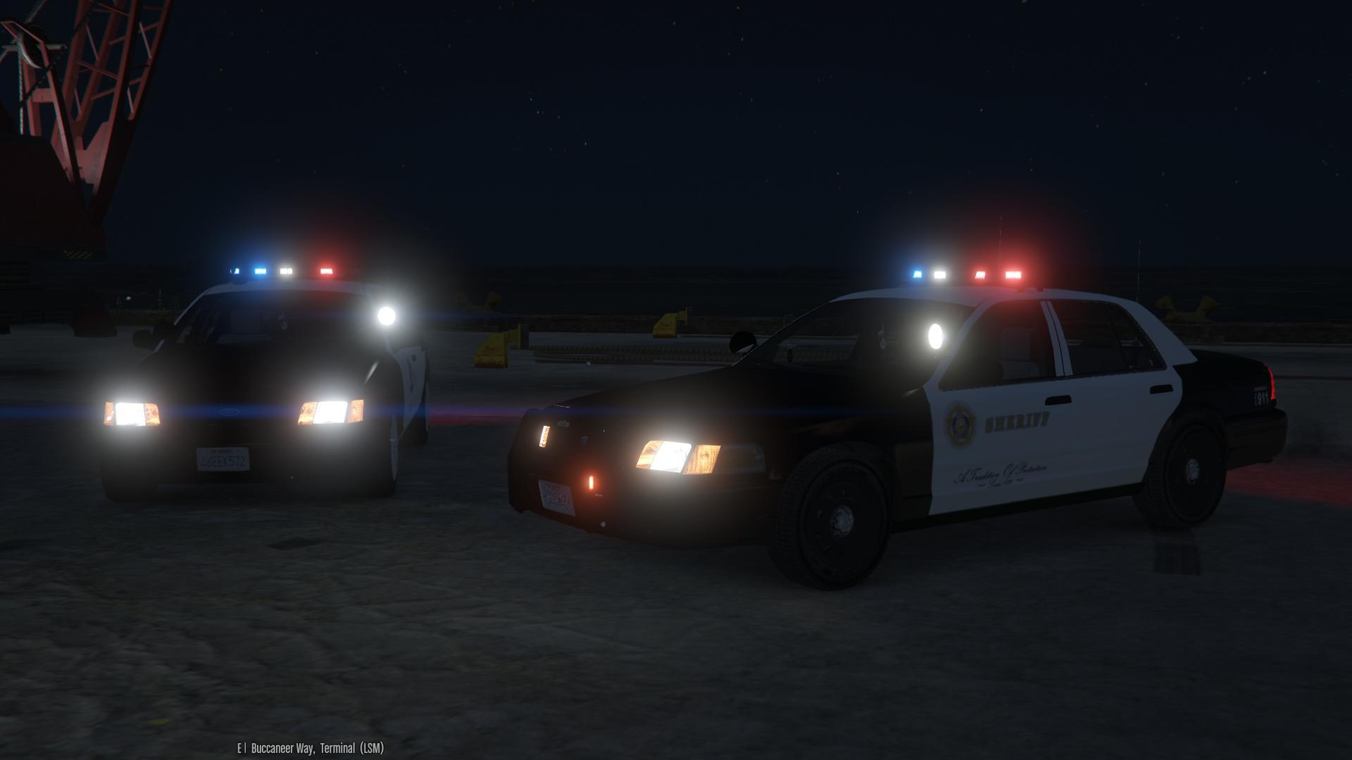[EVL] 2011 Ford Crown Victoria Police Interceptor - Los Santos Emergency Services Pack - GTA5 ...