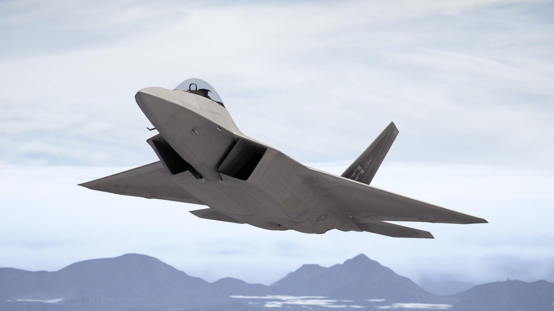 F-22 Raptor [Add-On] -...
