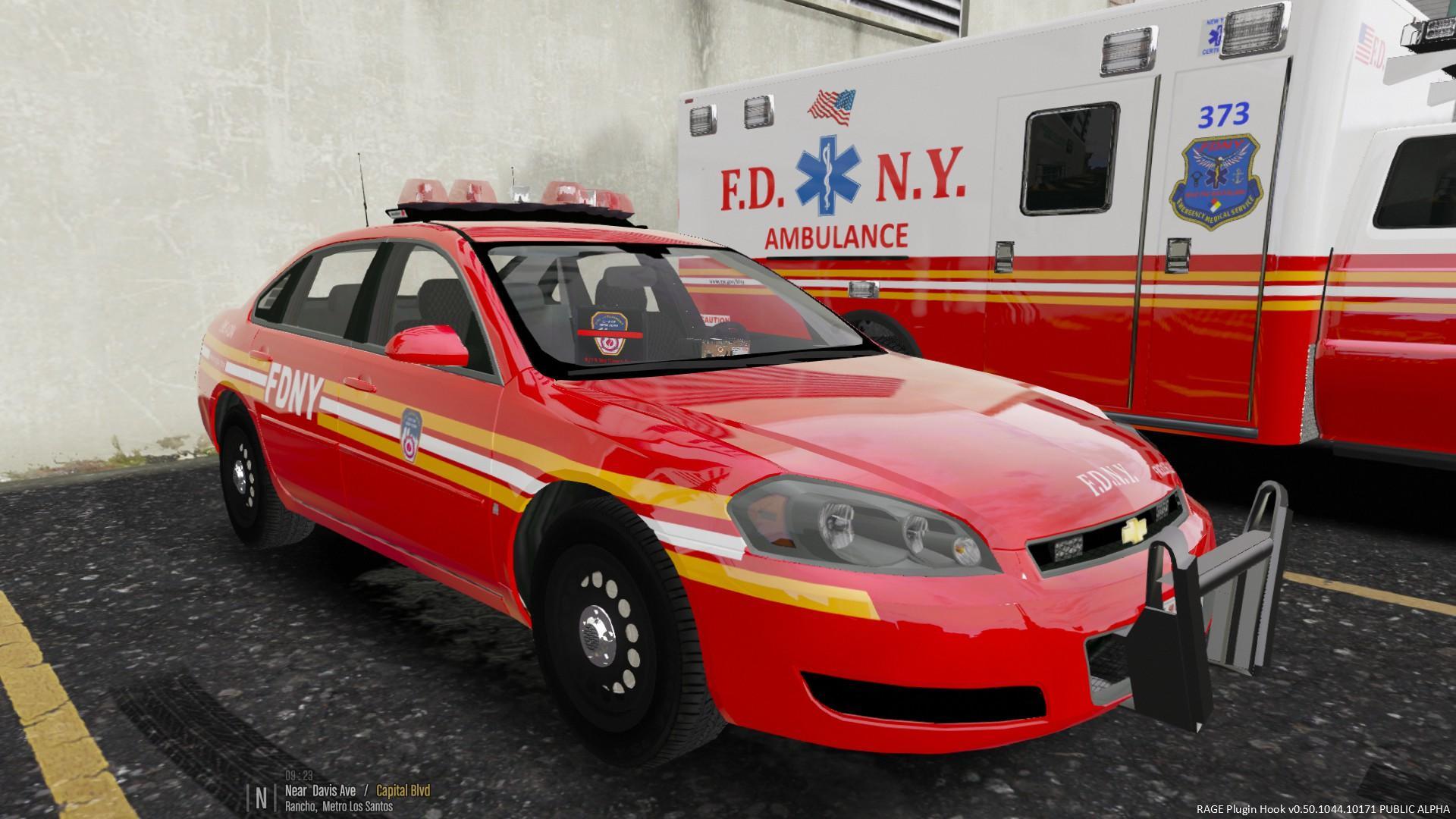 FDNY EMS Division 4 Impala - GTA5-Mods.com