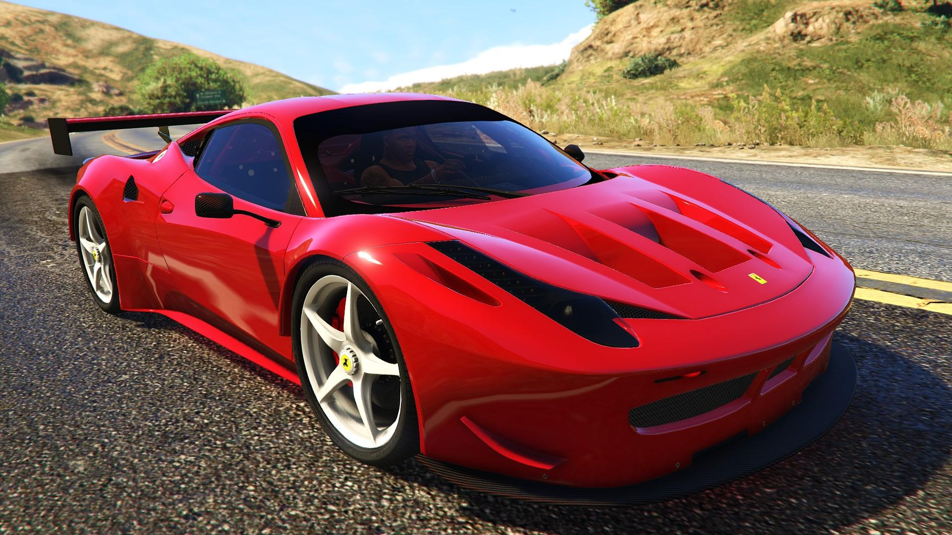 ferrari 458 italia gt2 add on tunable gta5. Black Bedroom Furniture Sets. Home Design Ideas