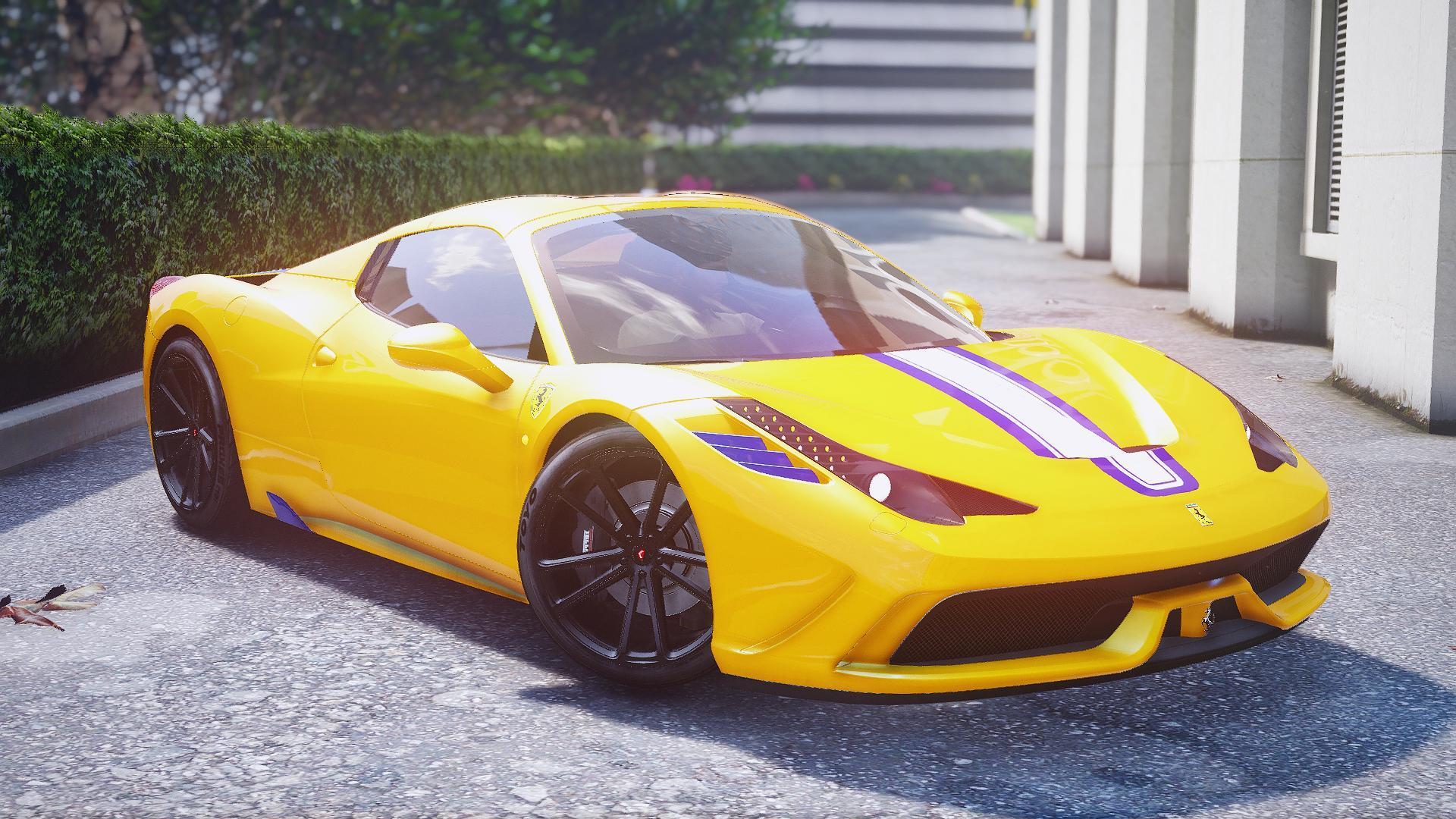 Ferrari 458 Review >> Ferrari 458 Speciale/Aperta 4K Liveries - GTA5-Mods.com