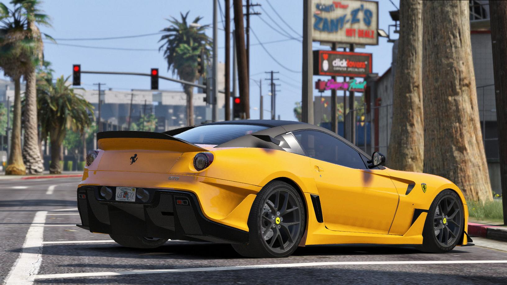 Ferrari 599 GTO [AddOn / Replace  599xx Tuning]  GTA5Mods.com