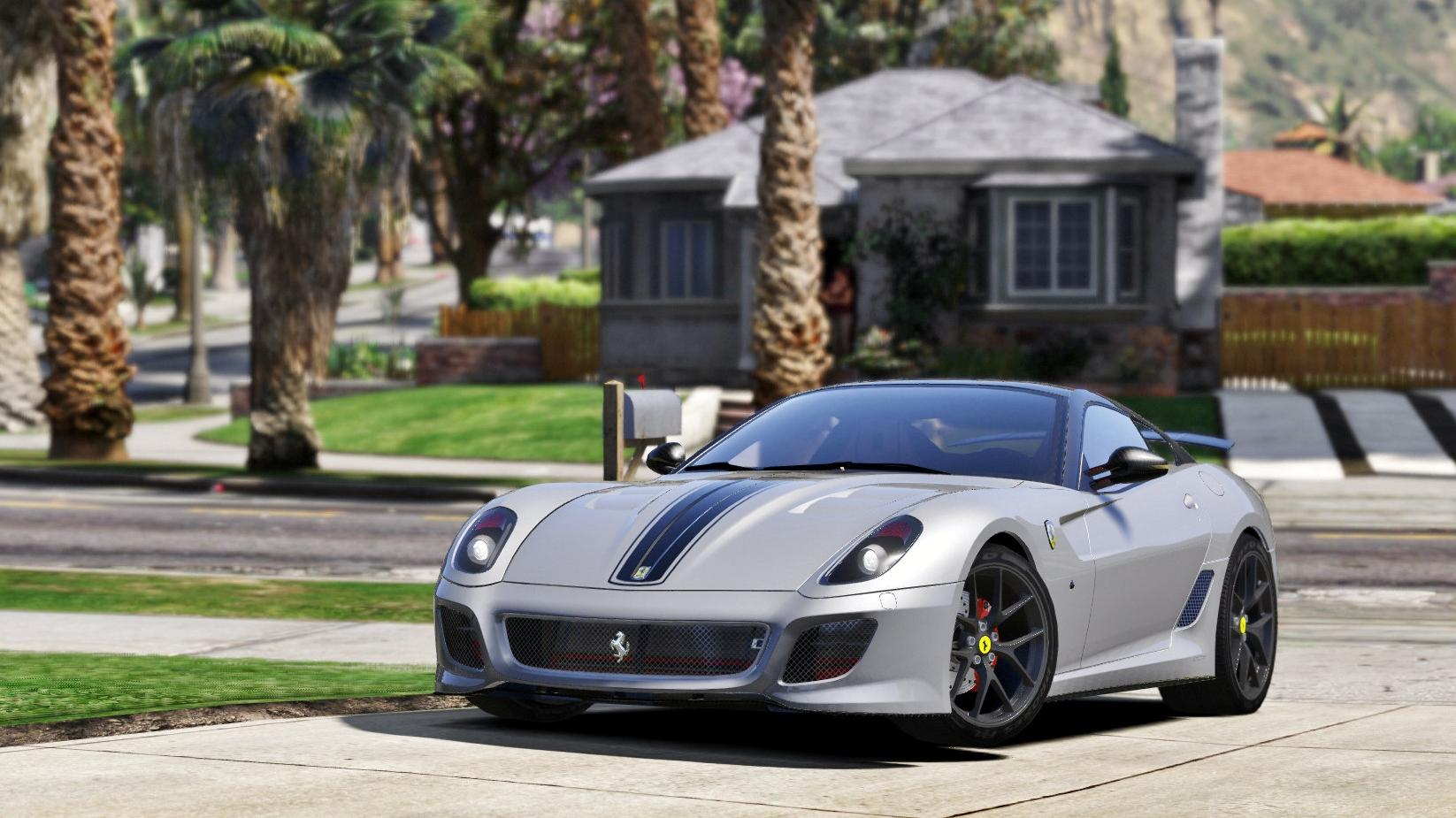 Ferrari 599 Gto Add On Replace Gta5 Mods Com