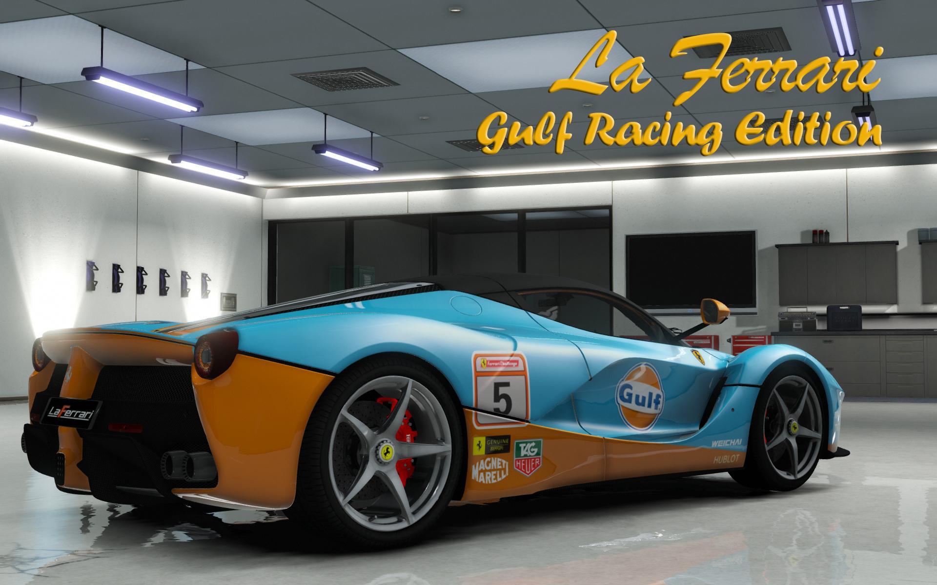 Ferrari Laferrari 2013 Gulf Racing Gta5 Mods Com